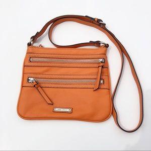 Nine West cute orange crossbody bag purse